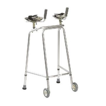 Adult walker with & without elbow support
