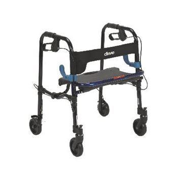 Rollators - Easily foldable